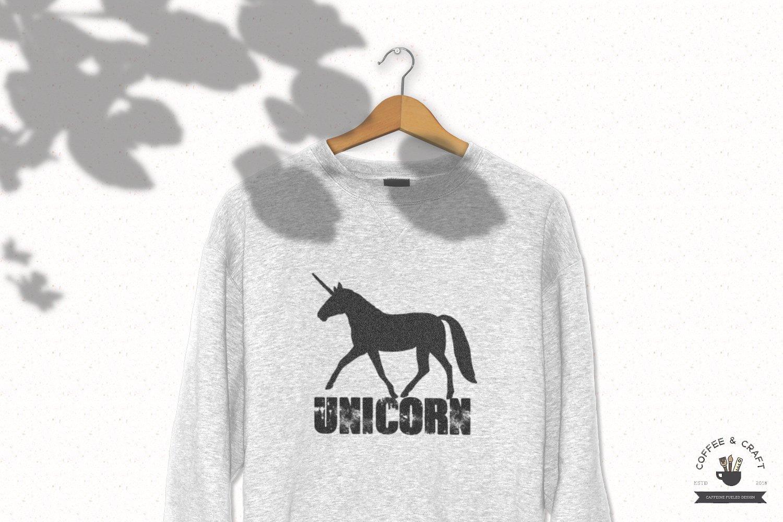 Unicorn Silhouette set example image 3