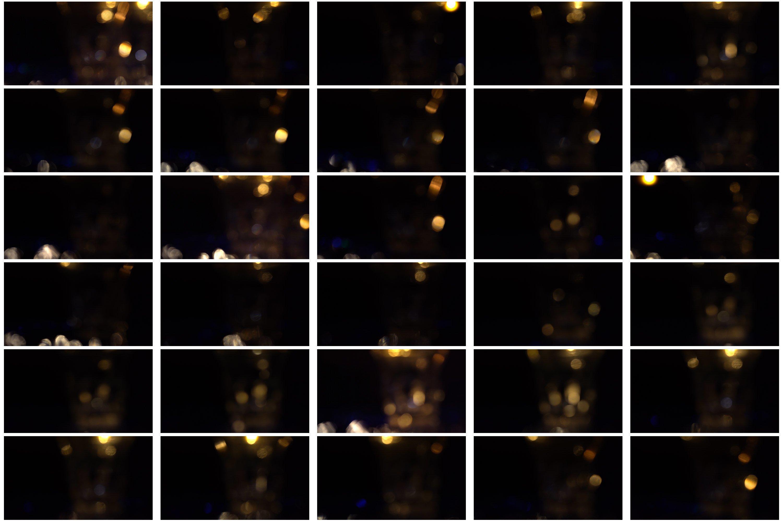 60 Golden light leak effect Overlay example image 6