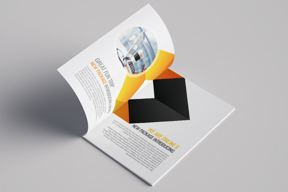 Business Portfolio Bifold Brochure 16 Pages example image 2