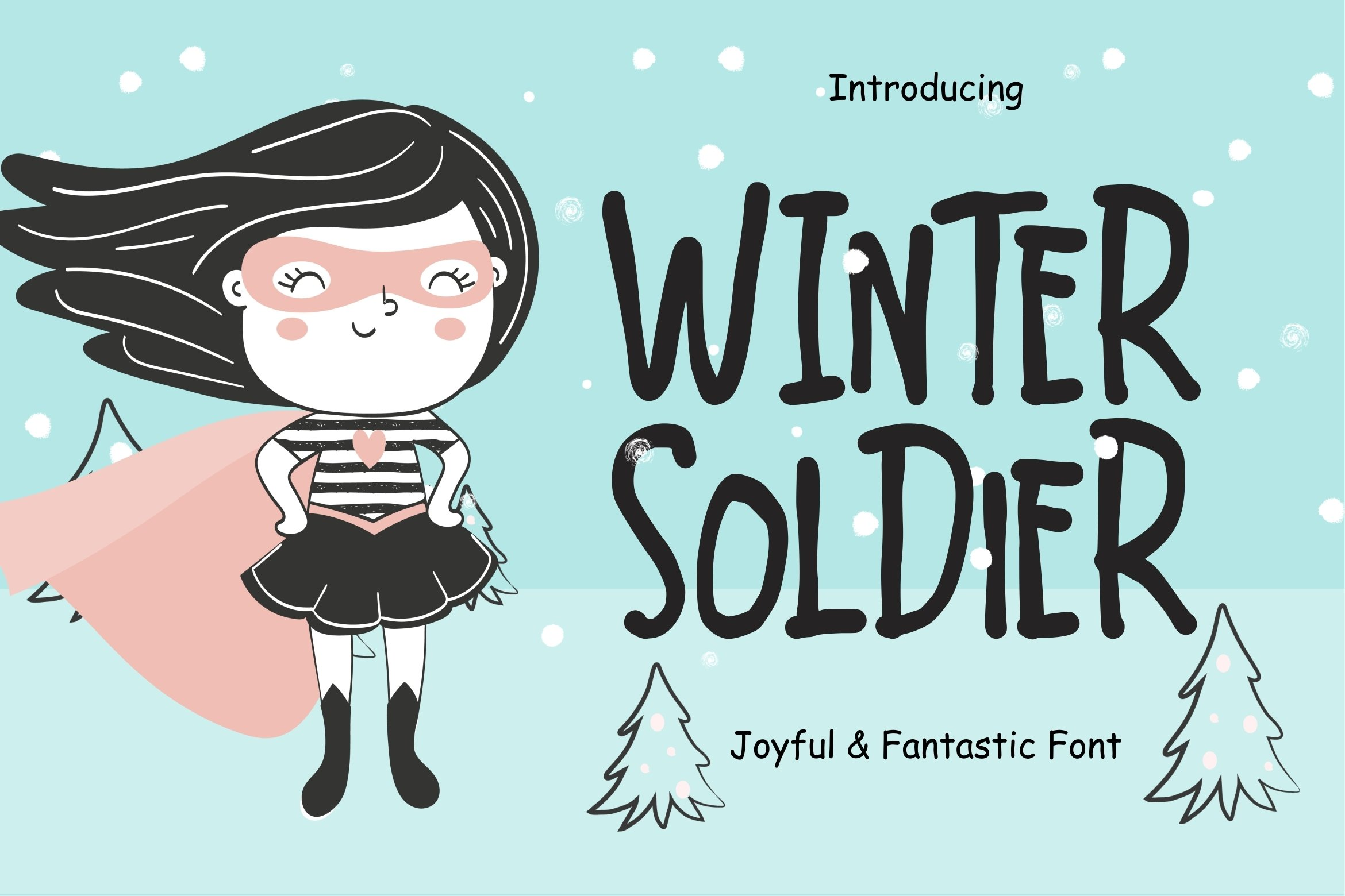 Winter Soldier Joyful & Fantastic example image 1