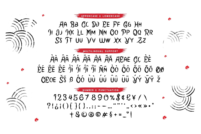 Abesuke Display Font example image 5