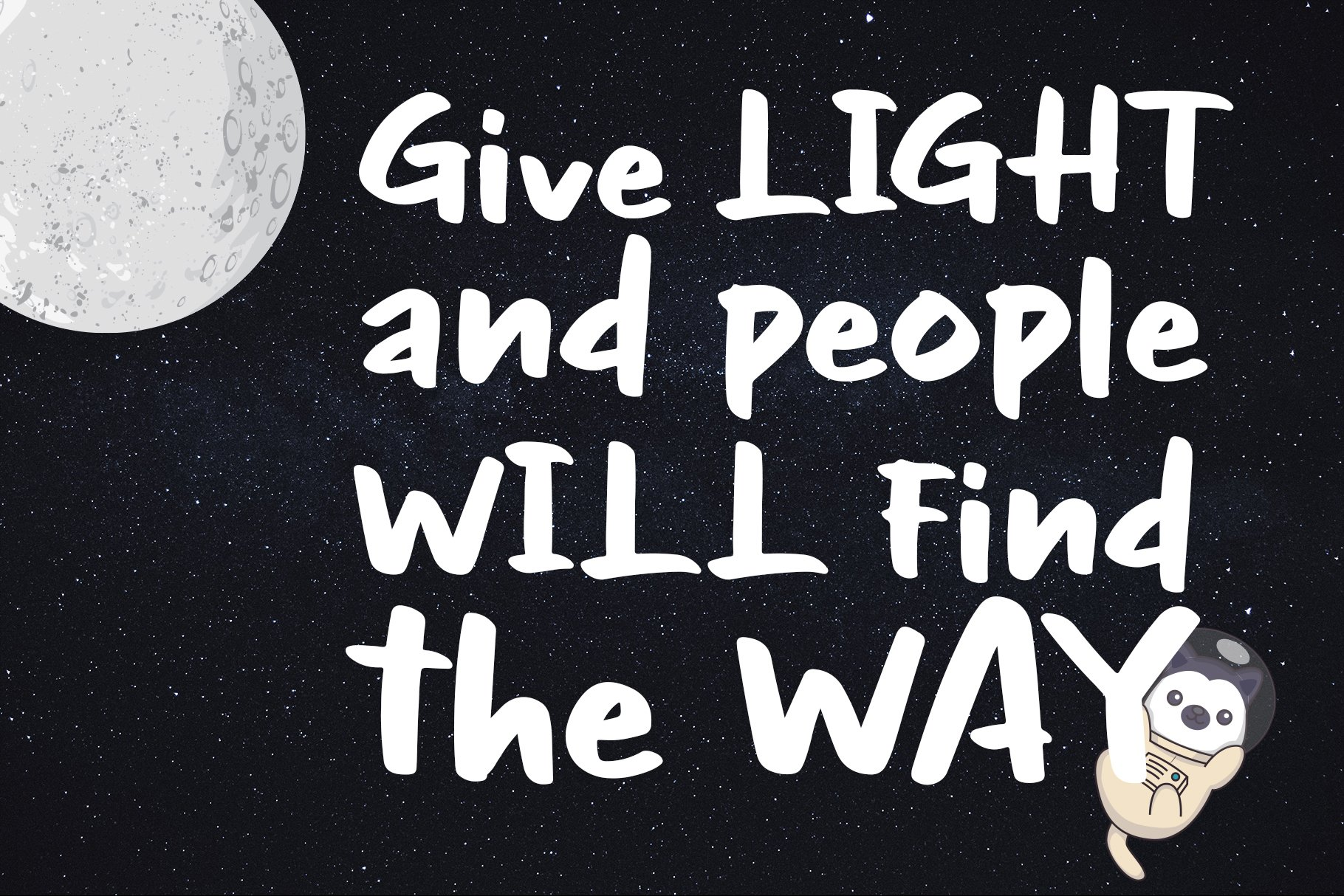 NIght Glow - Handwritten Font example image 3