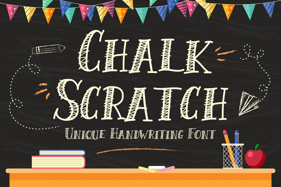Chalk Scratch example image 1