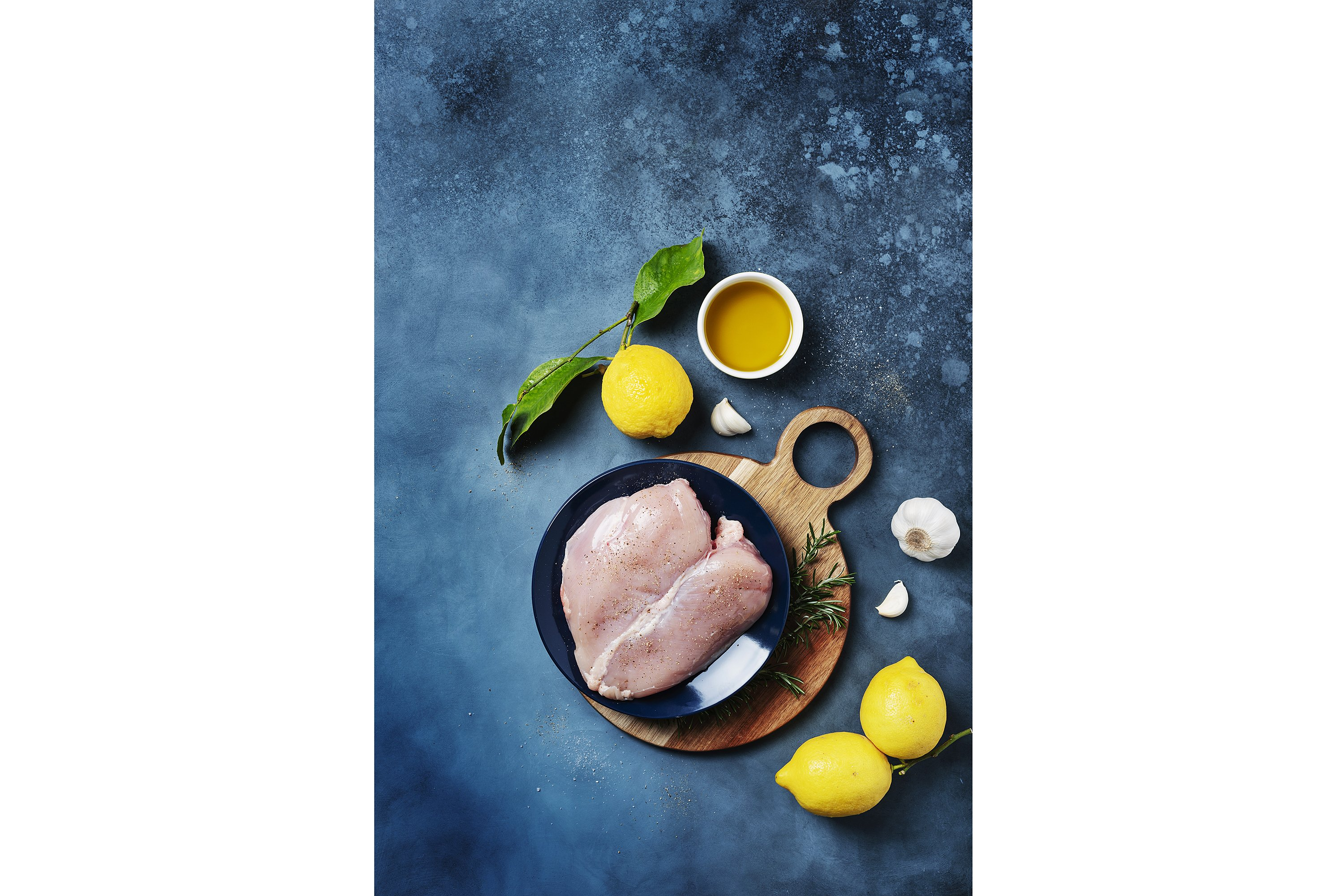 Healthy eating concept. Ingredients for cooking chicken example image 1