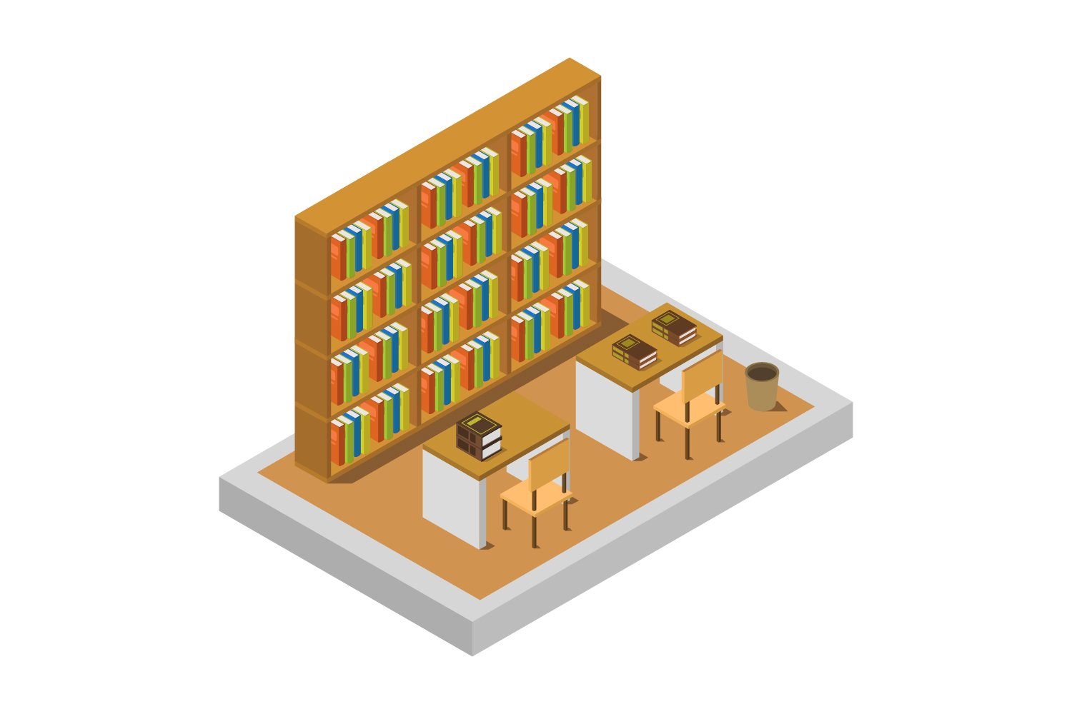 isometric library example image 1