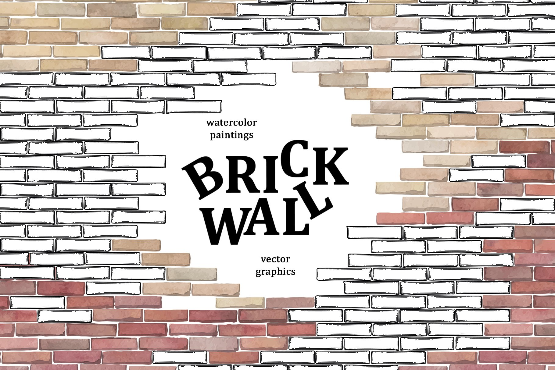Brick wall collection example image 1