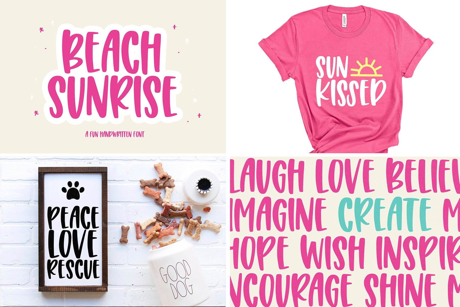 Font Bundle - Handwritten Fonts for Crafters! example image 14