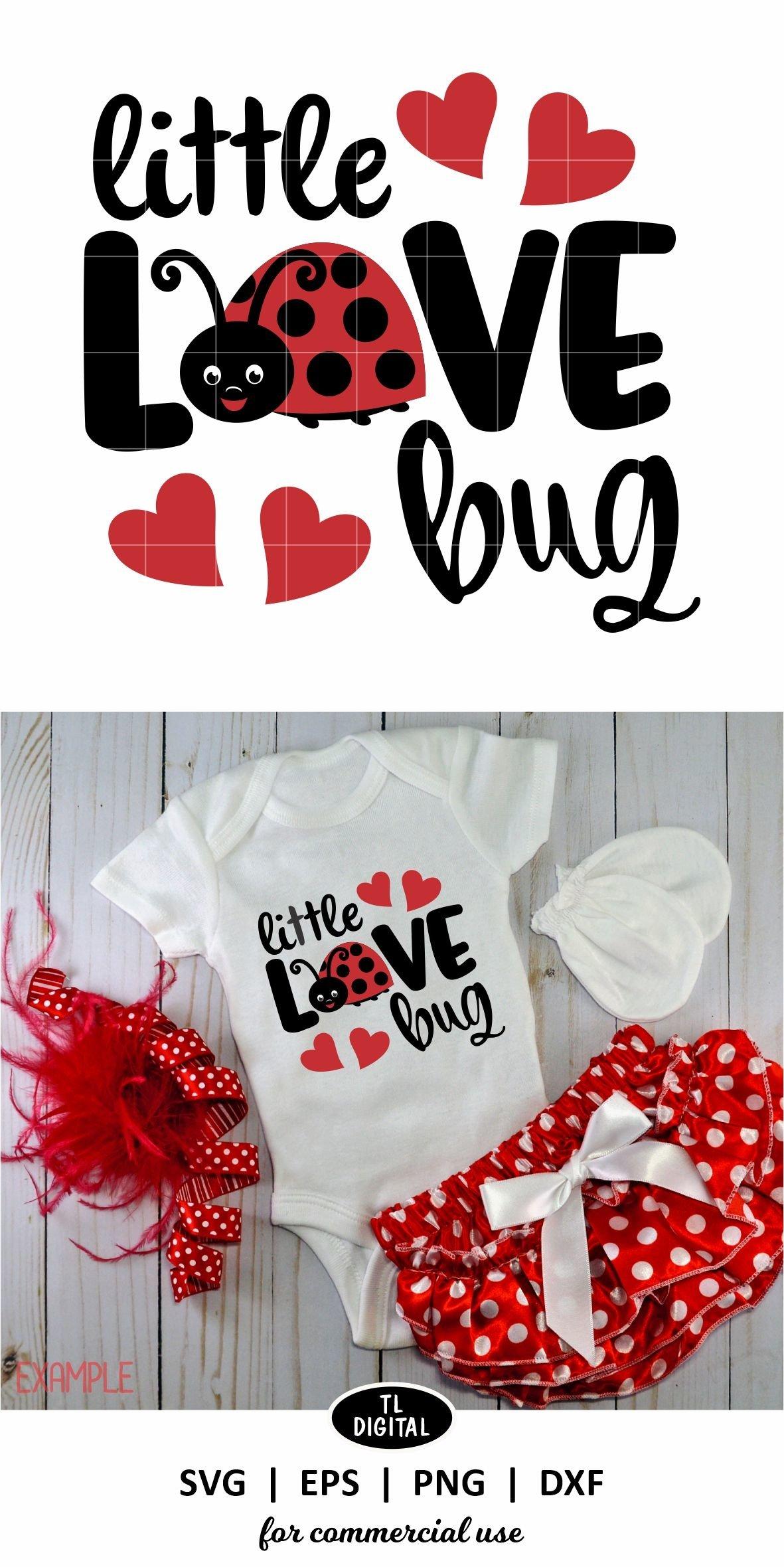 Download Little Love Bug - SVG | EPS | PNG |DXF - Valentines ...