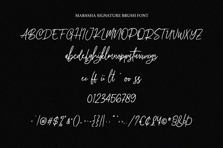 Marssha Brush Signature example image 6