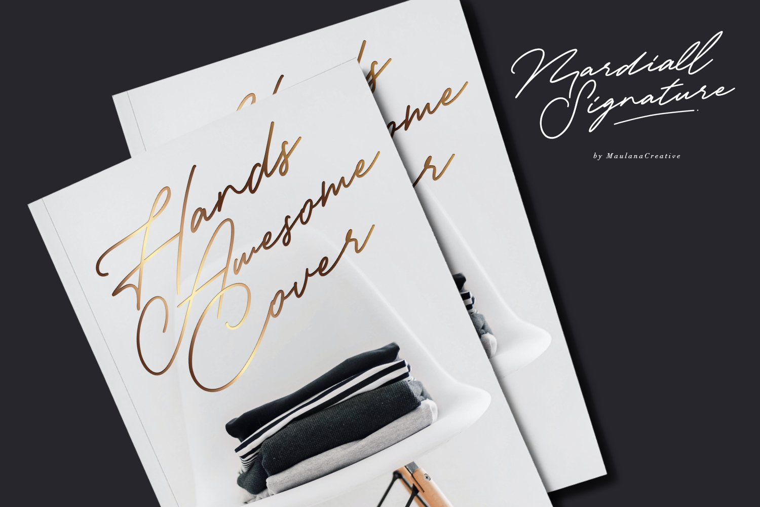 Mardiall Signature Font example image 7