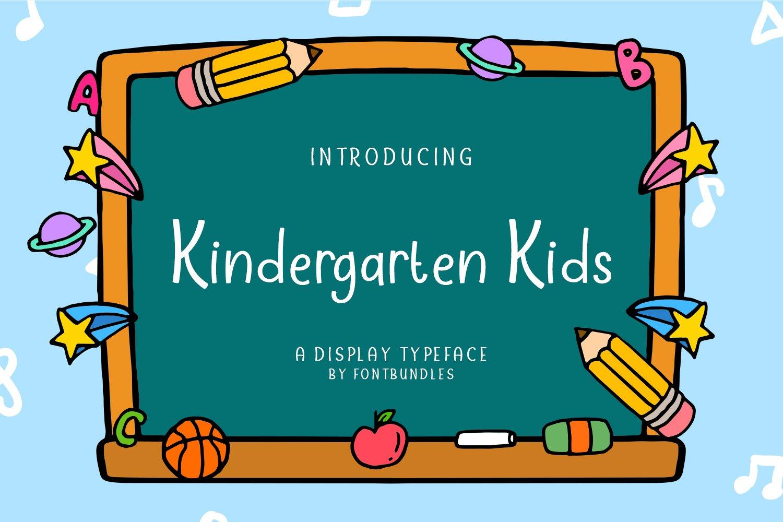 Kindergarten Kids example image 1