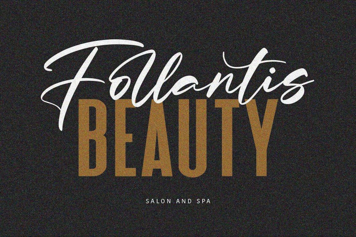 Salloum Golden Font Duo example image 5