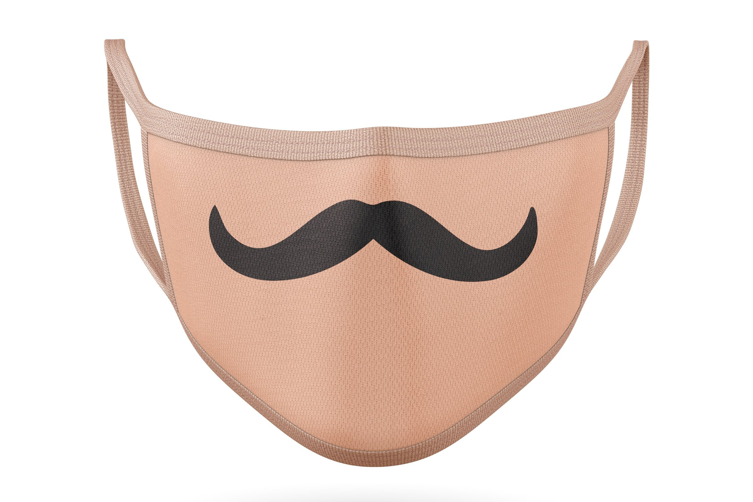 10 Funny Mustaches for Masks - SVG Cut Files example image 6
