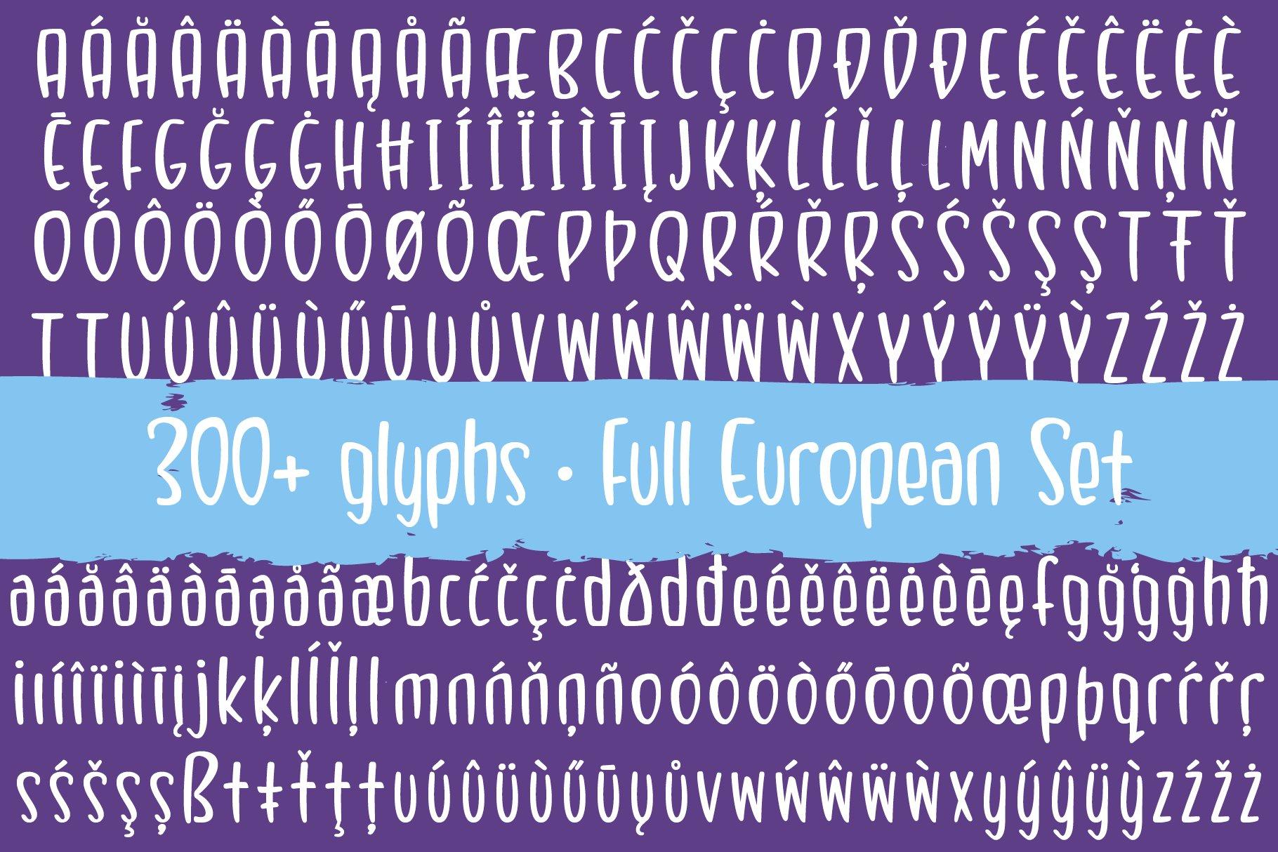 Bombleberry - a playful & tasty font example image 9