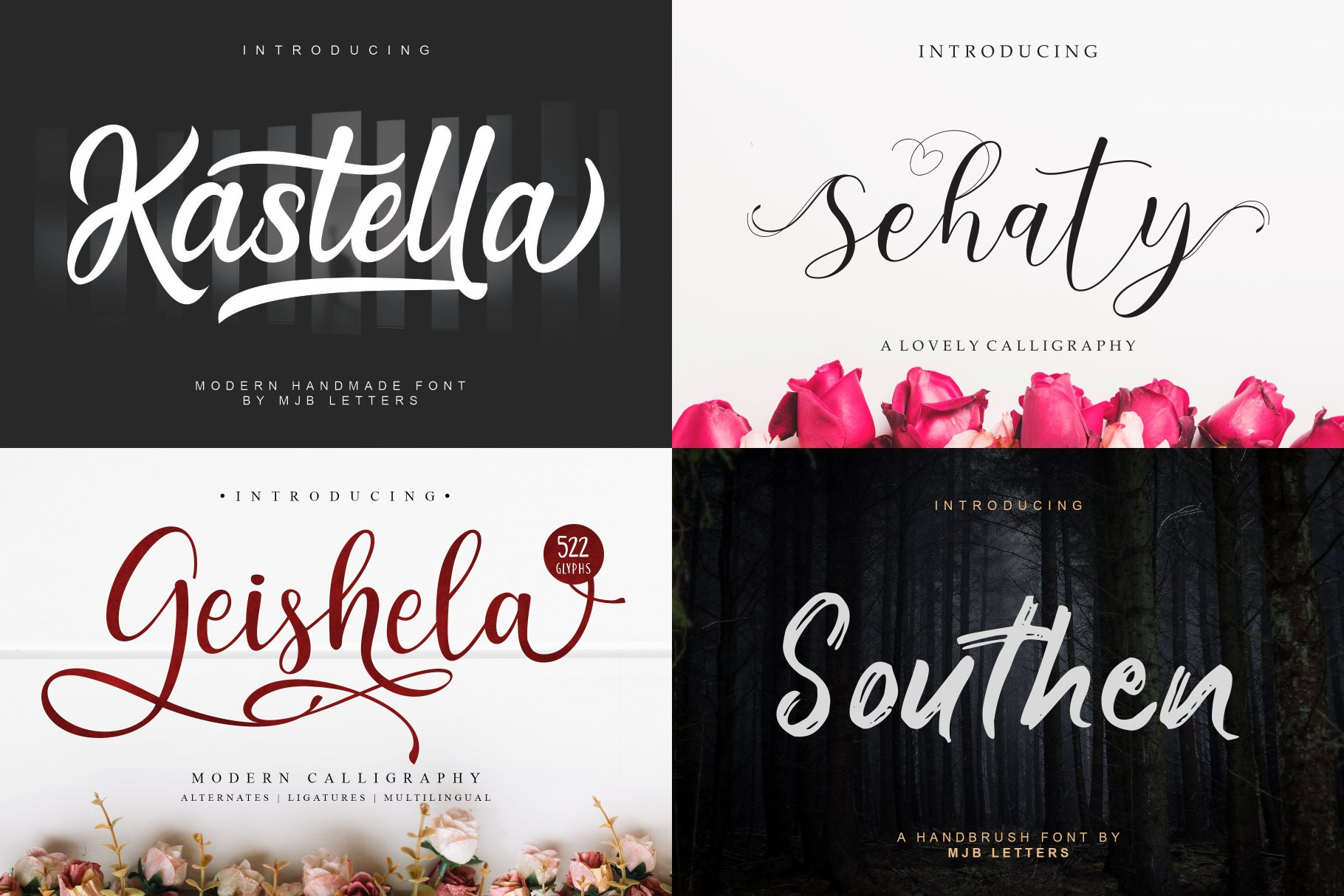 BIG BUNDLE - BEST FONT COLLECTIONS example image 2