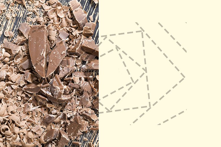 sliced and broken chocolate example image 1