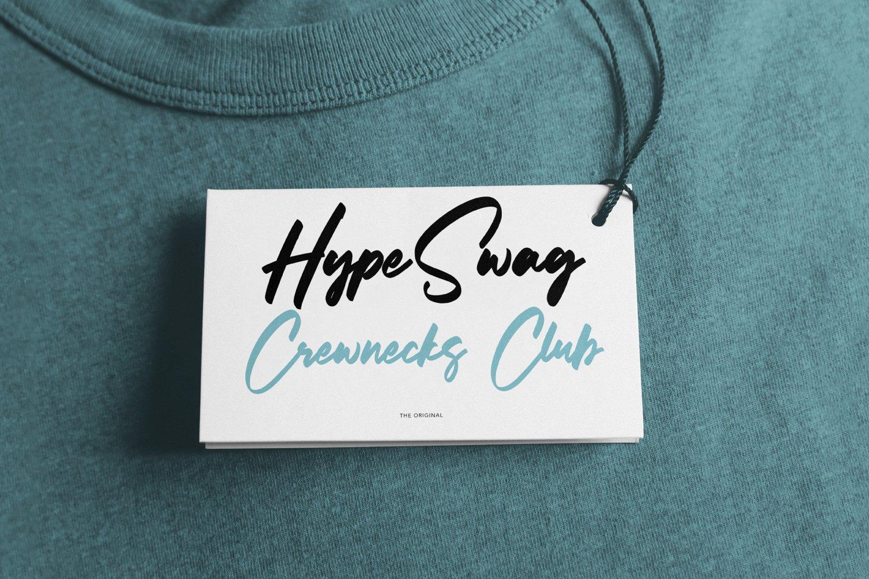 Litterbag - Fancy Script Font example image 7