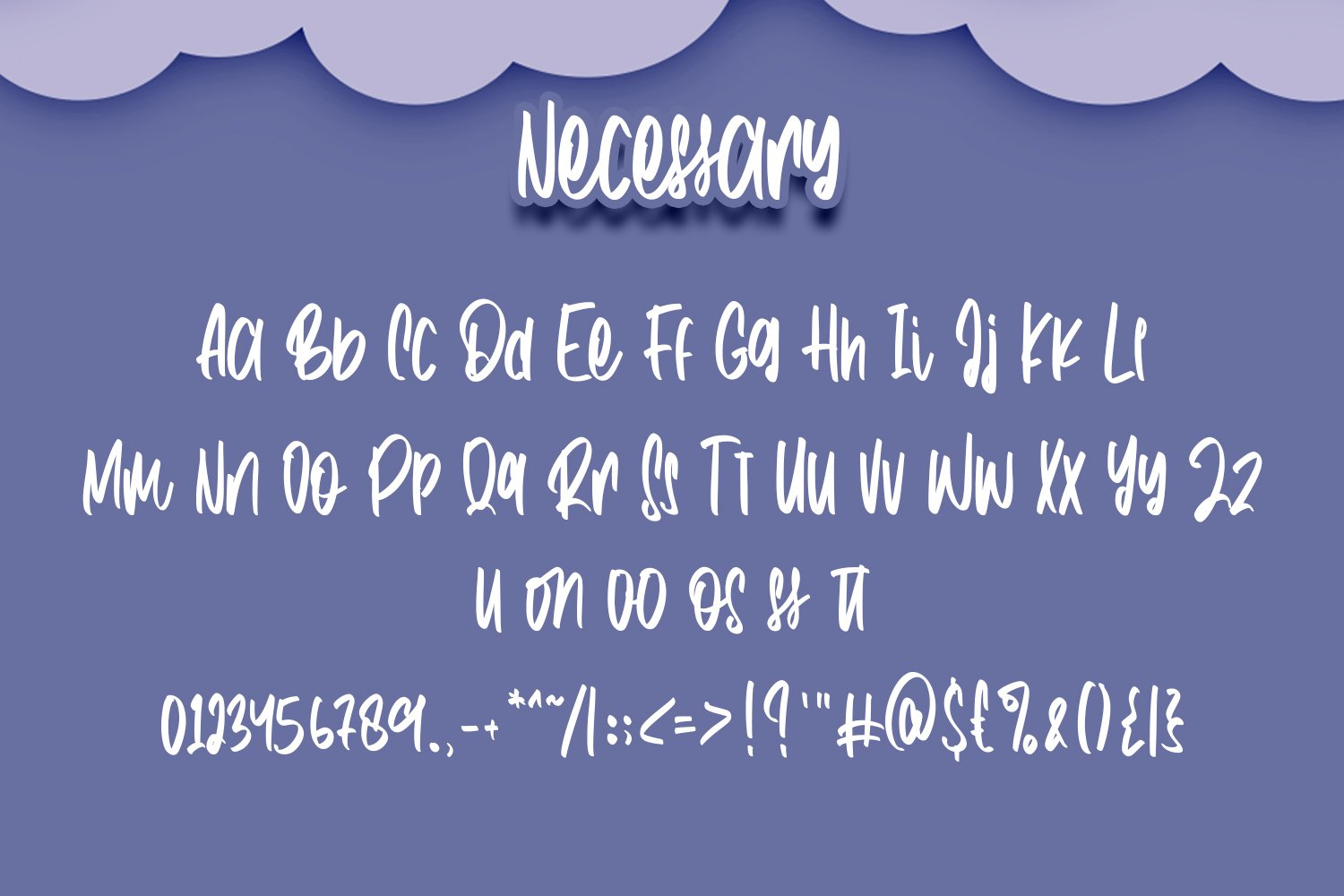 Necessary - Fancy Fonts example image 4