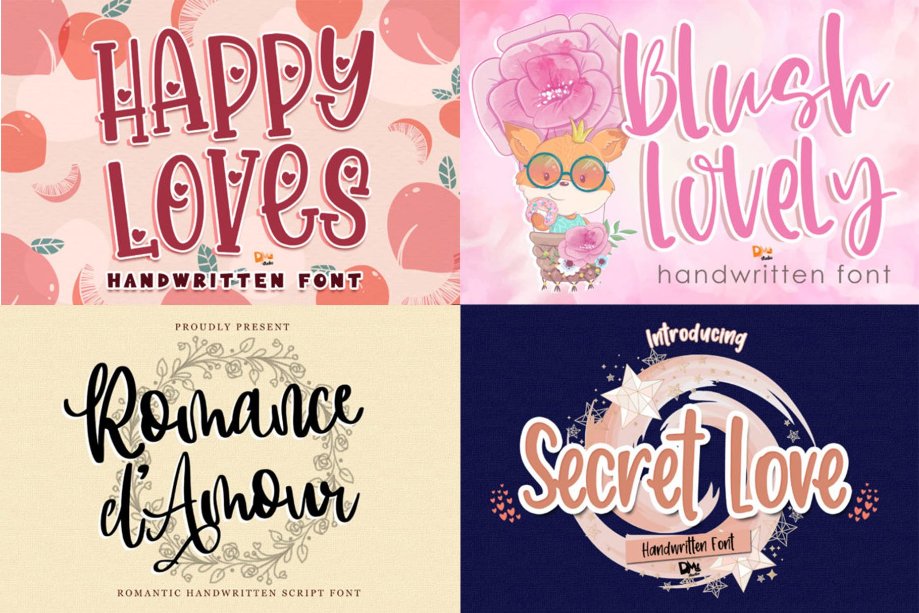 BIG BUNDLE - Seasonal Crafting Font Collection!! example image 3