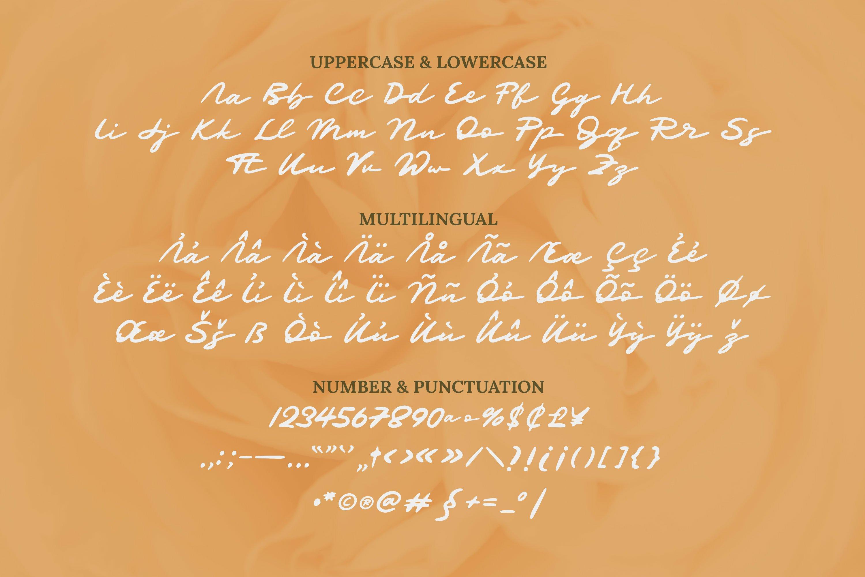 Mandraguna Font example image 5