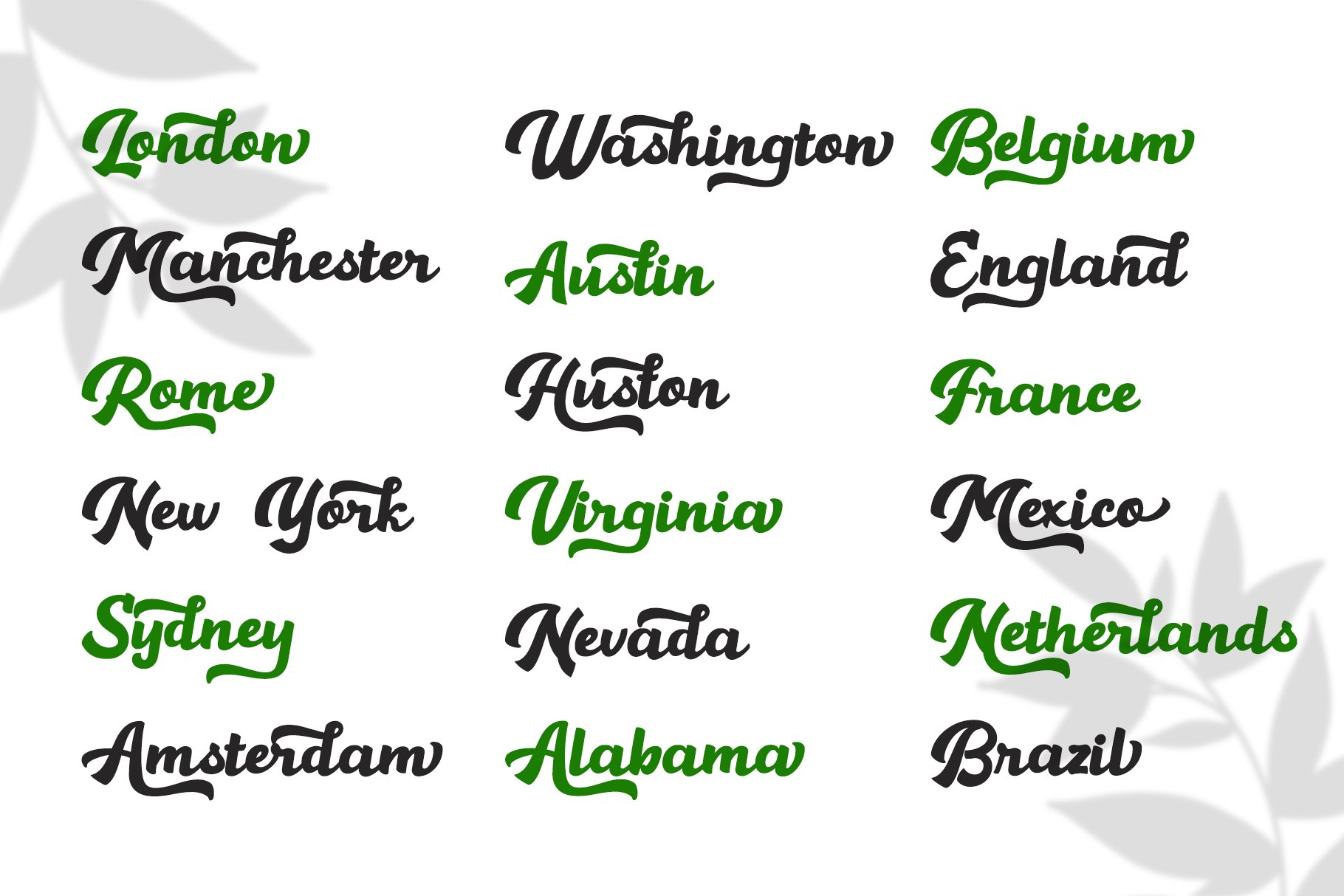 Hamelin Script Font example image 6