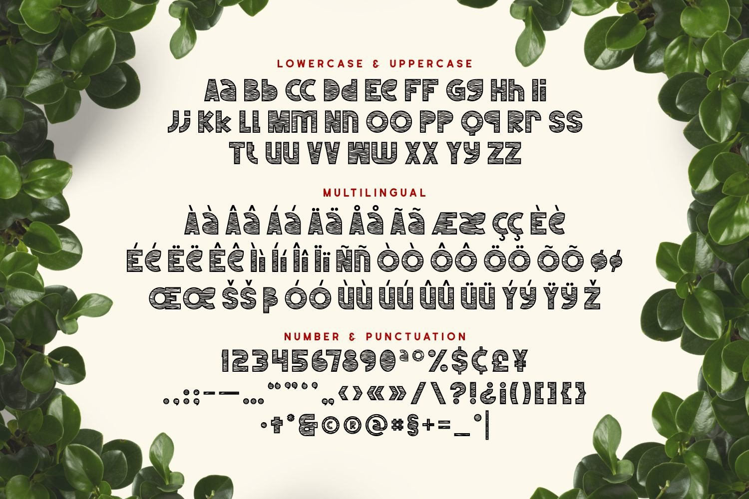 Lumberjack - Playful Display Font example image 3