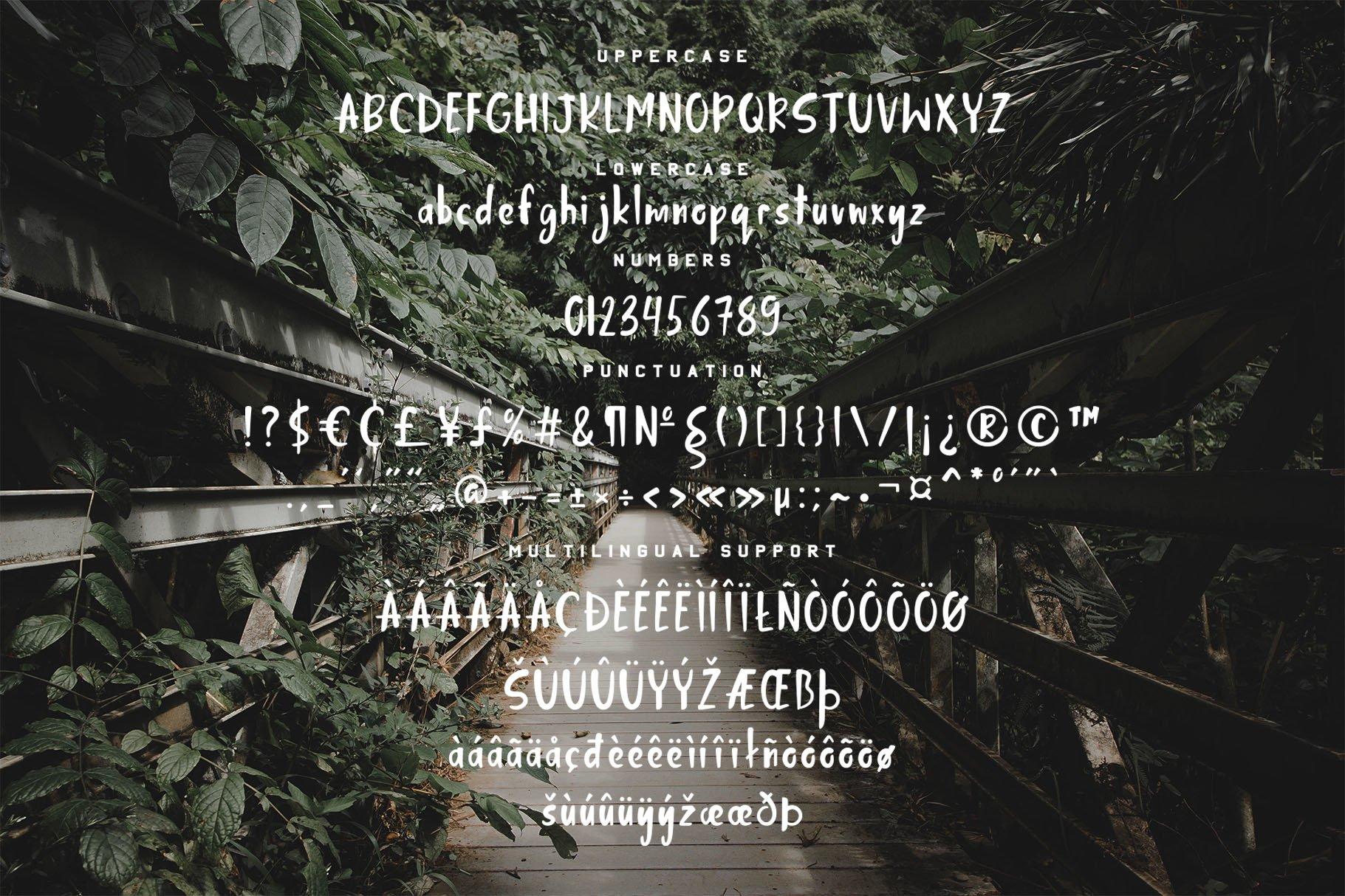 Jungle Display Font example image 8