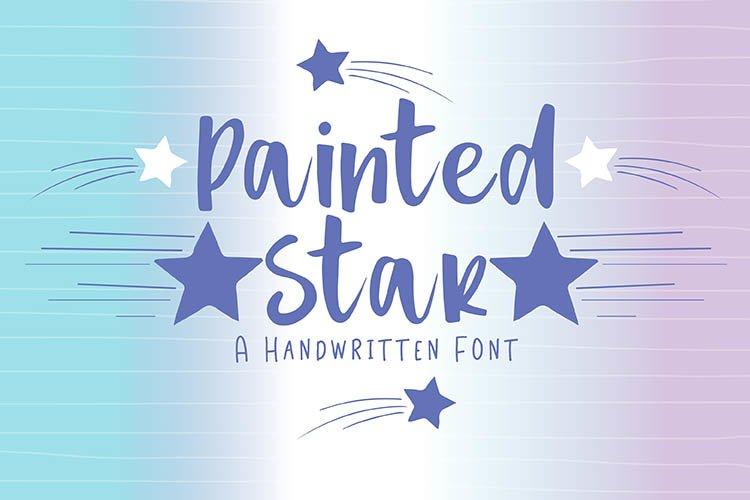 Painted Star example image 1