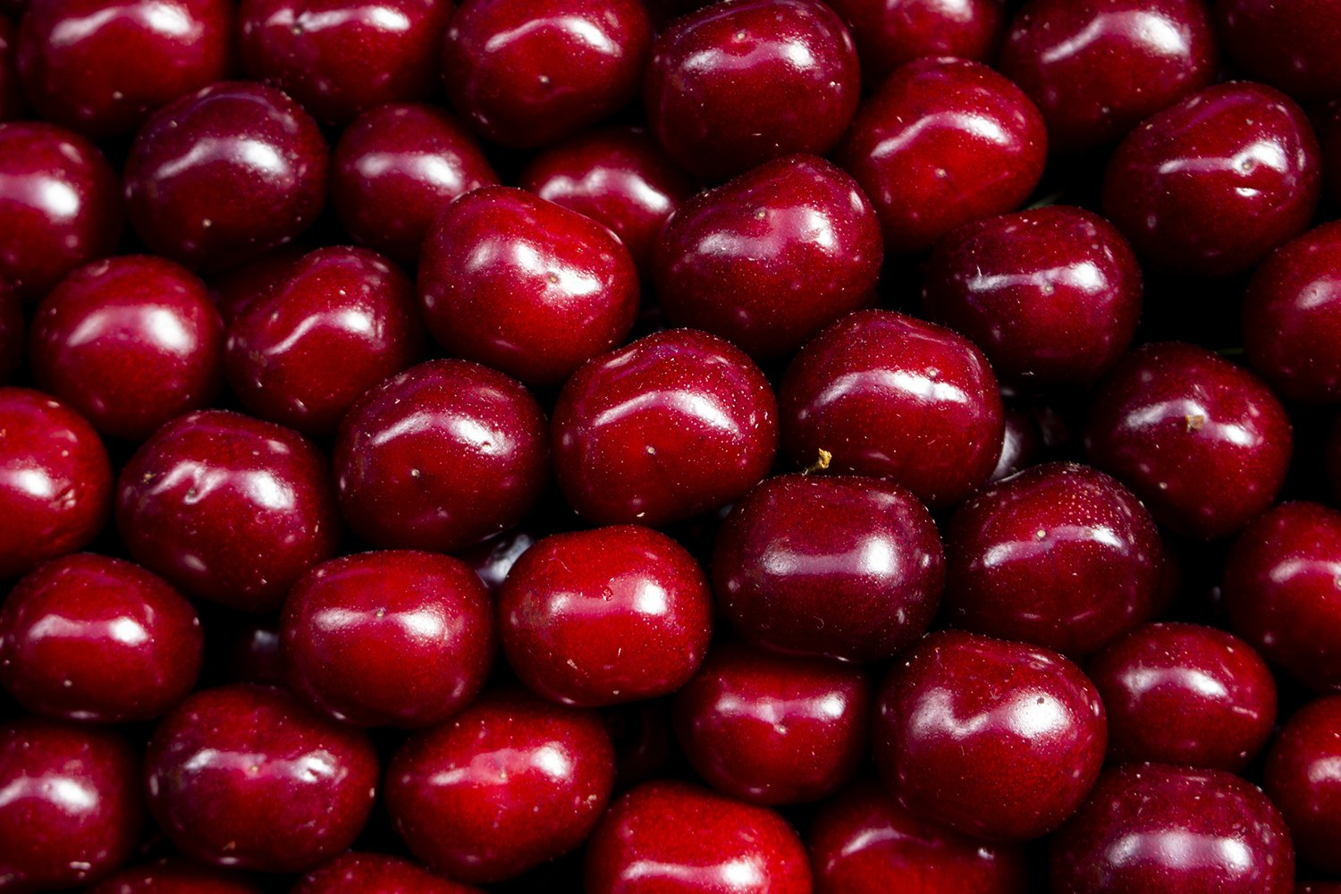 Juicy colored fruits on counter farm market red cherry example image 1