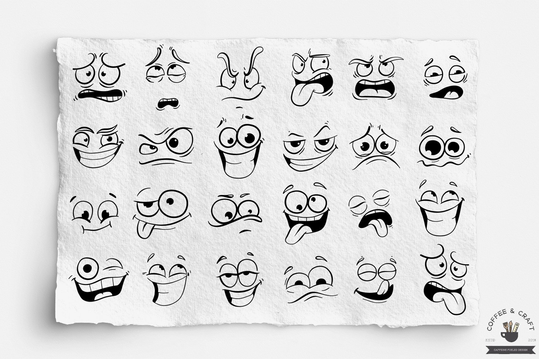 Cartoon faces example image 4
