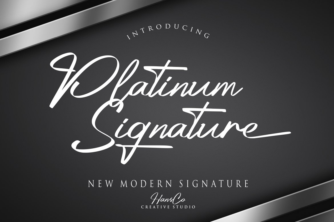 Platinum Signature example image 1