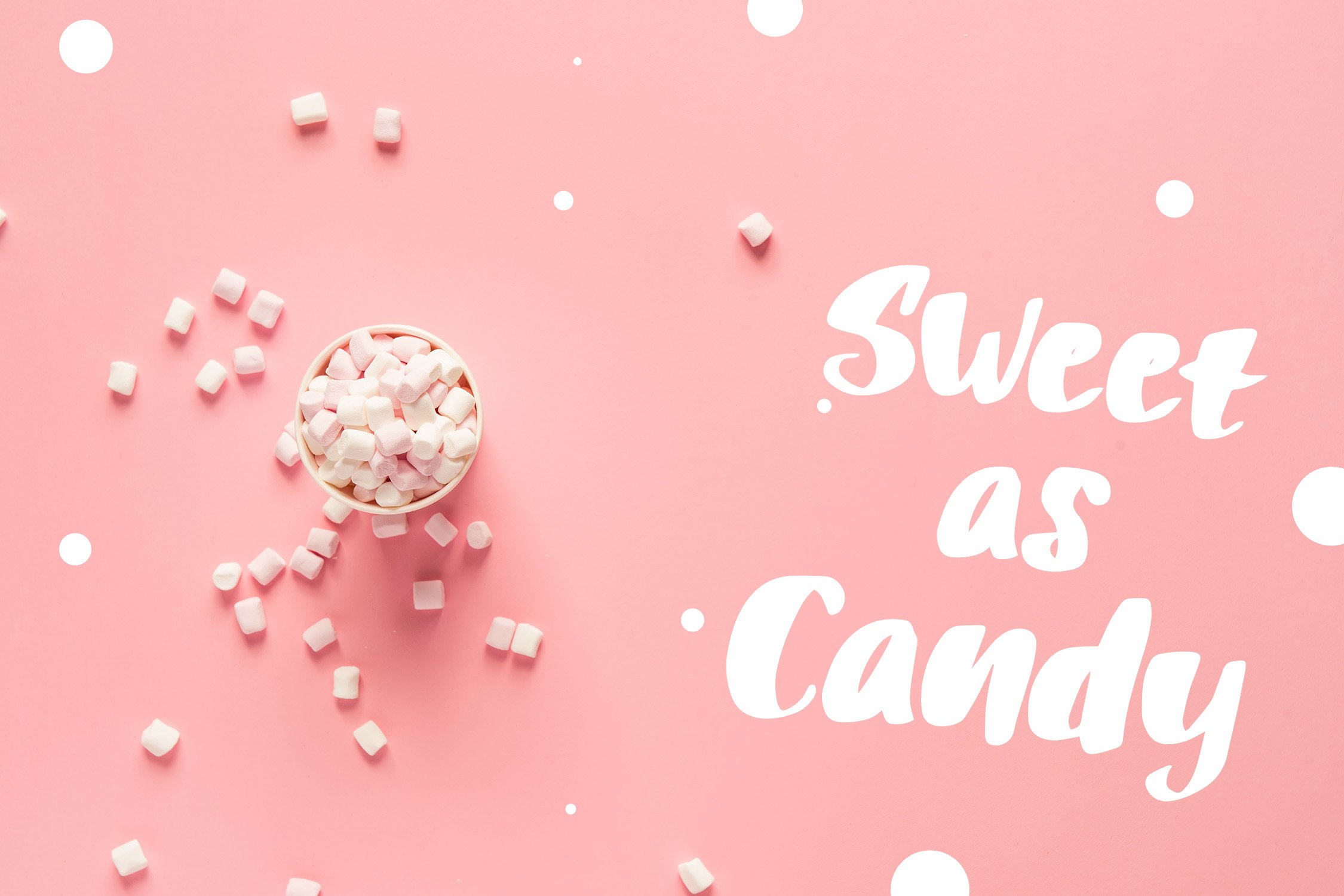Puff Candle Playful Font example image 2