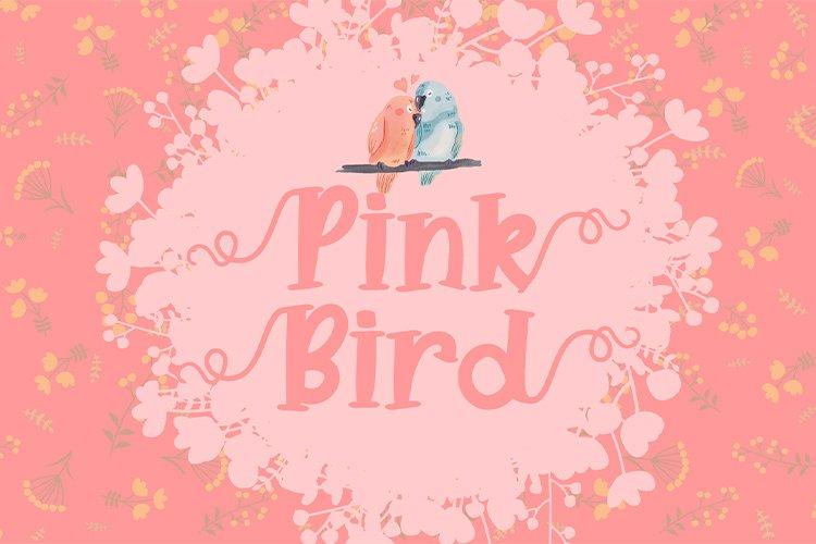 Pink Bird example image 2