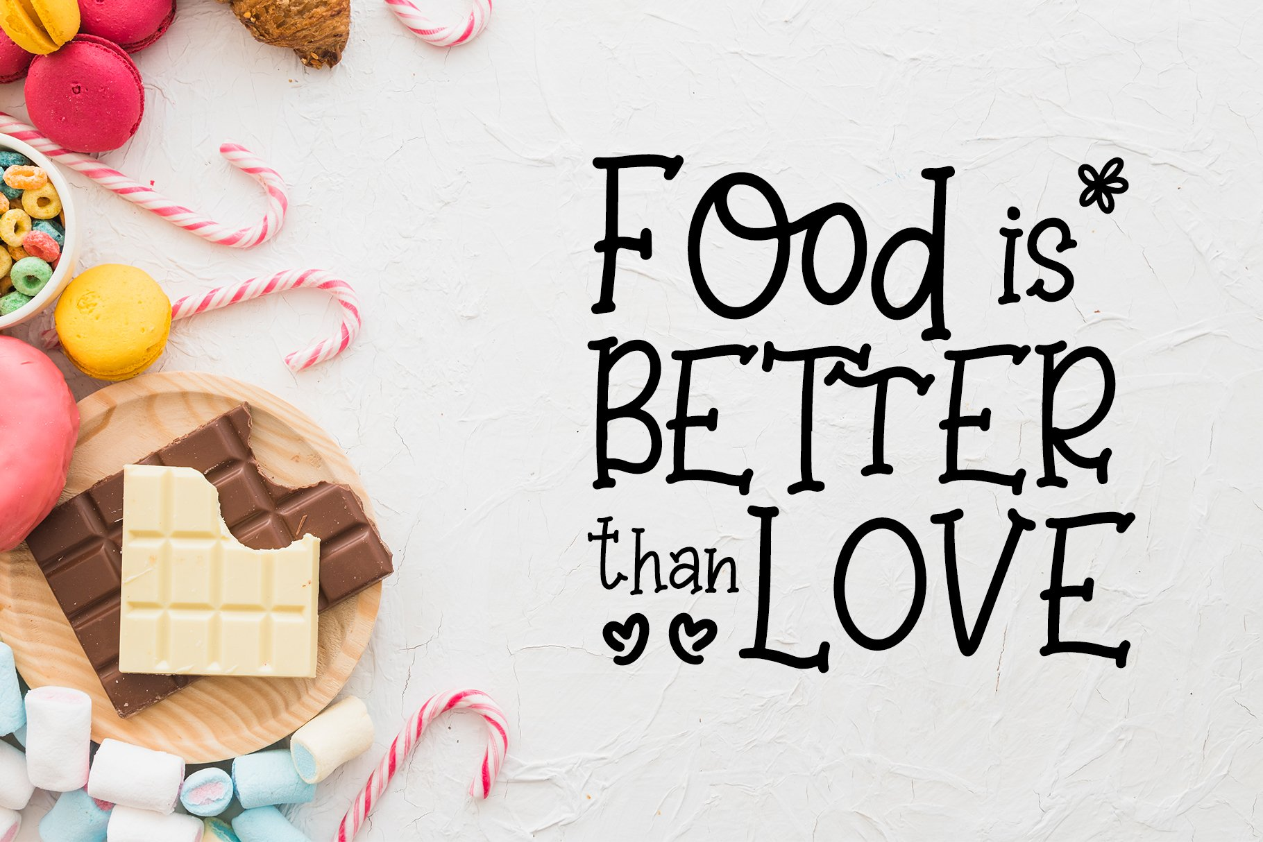 Sweet Lollipop - Fun Handwritten Font example image 2