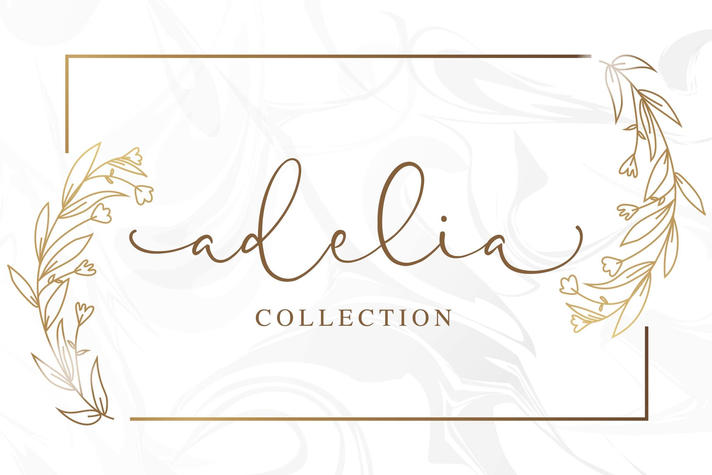 Pretty Yellow Beauty Calligraphy Font example image 4