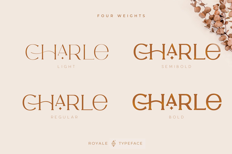 Royale Luxurious Typeface example image 3