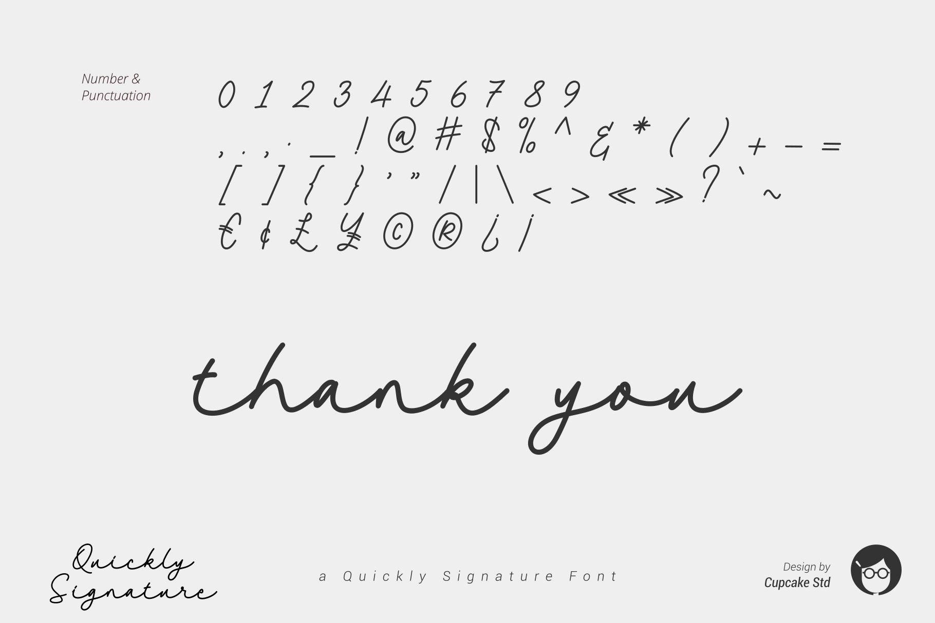 AL Quickly Signature example image 7