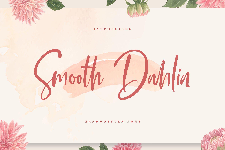 Smooth Dahlia example image 1