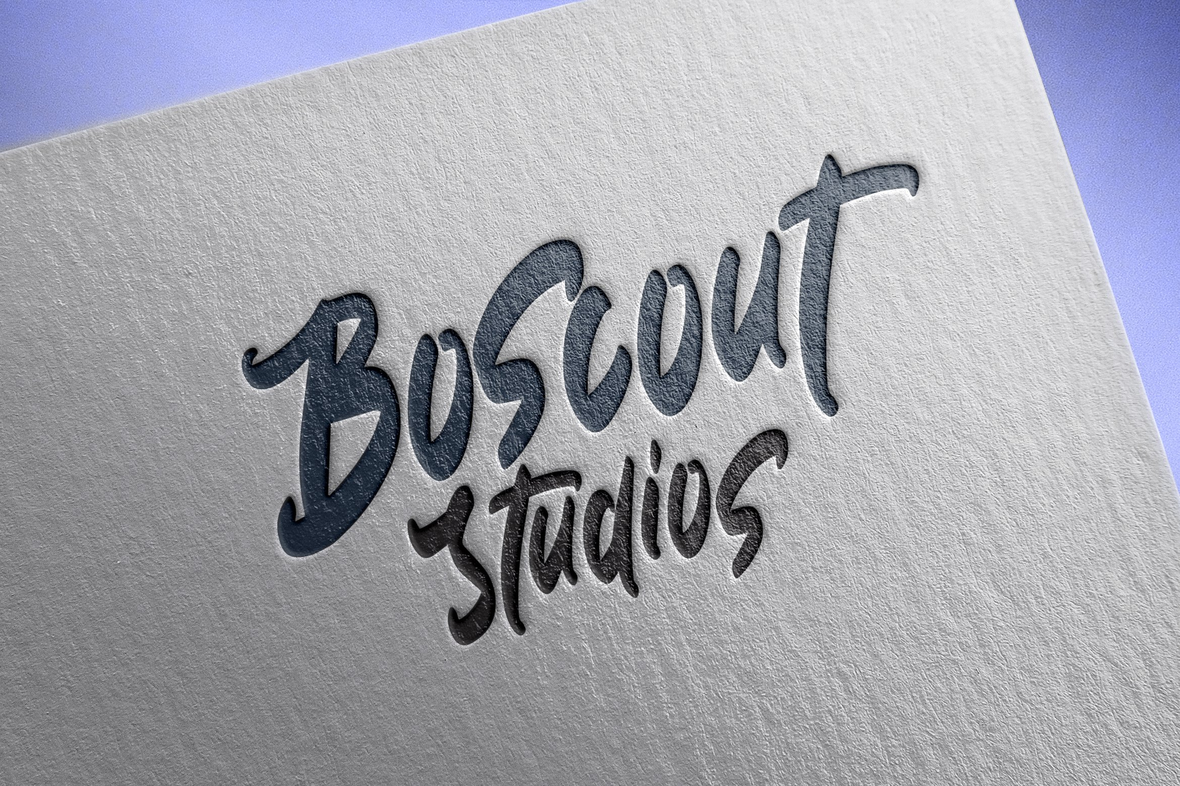 Boscout - Brush Font example image 7