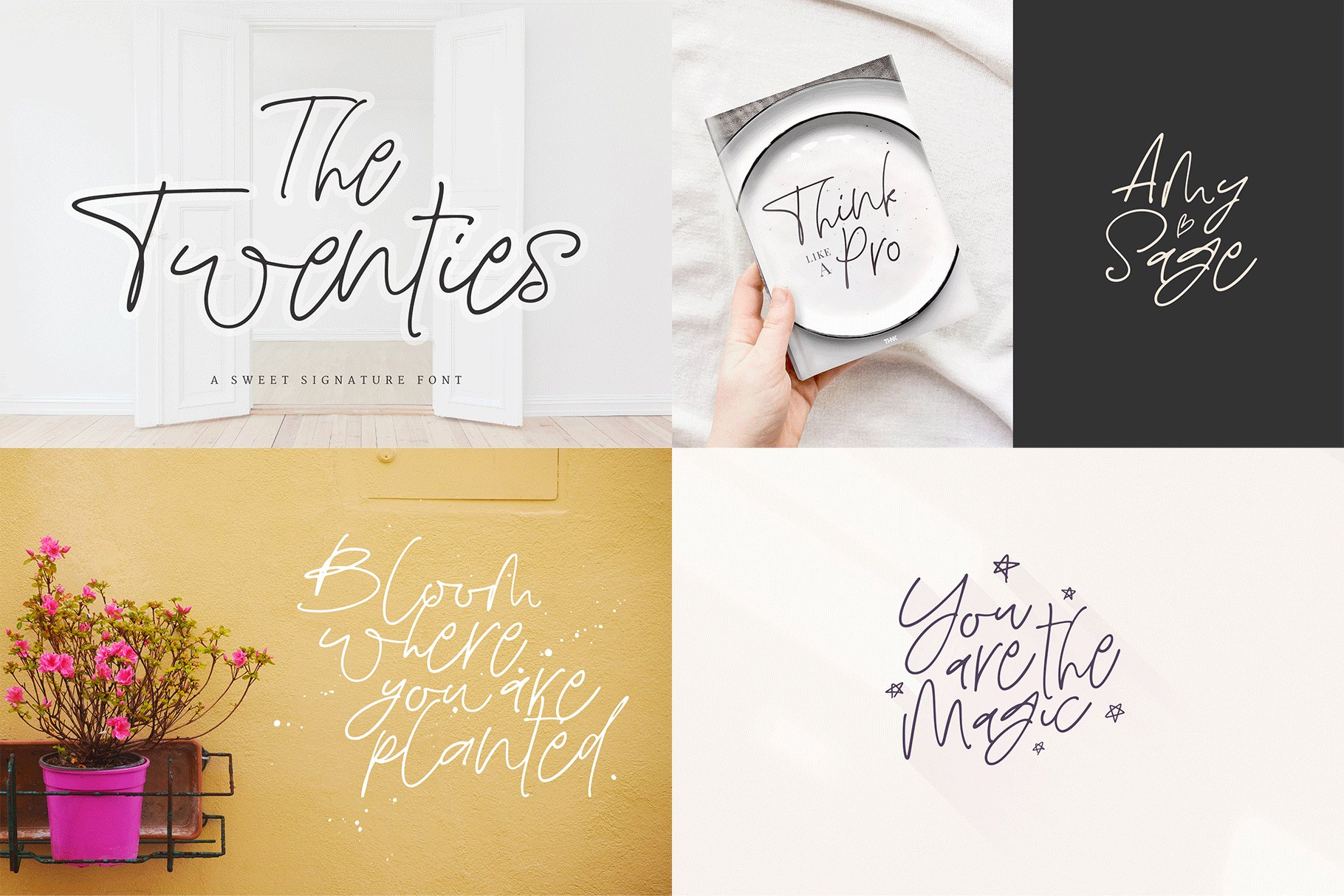 The Hand Lettered Font Bundle example image 6