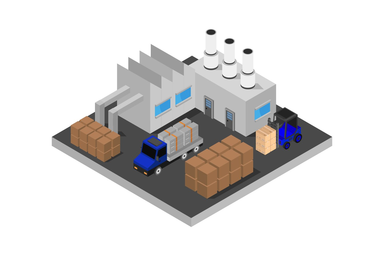 isometric industry example image 1