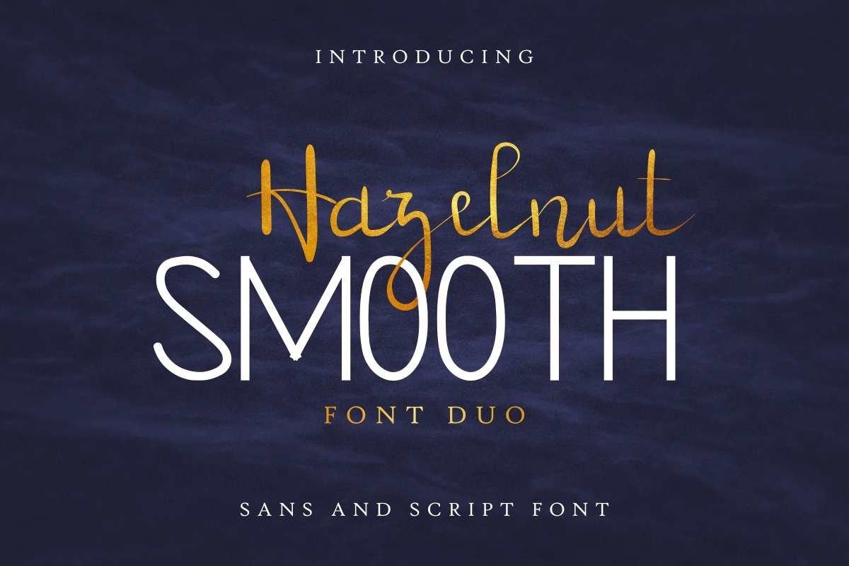 Hazelnut smooth example image 1