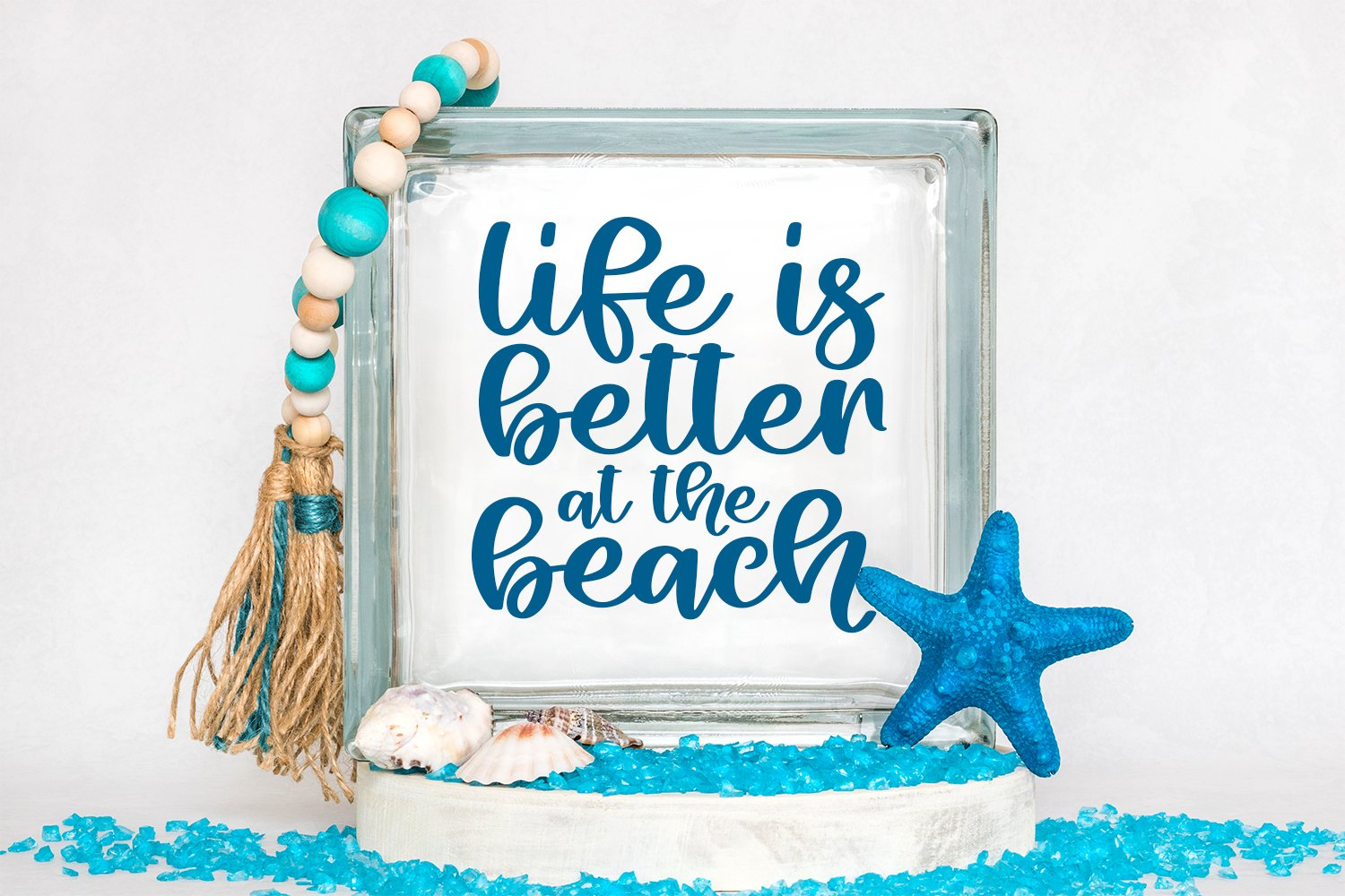 Beach Life - A Hand-Lettered Script Font example image 4