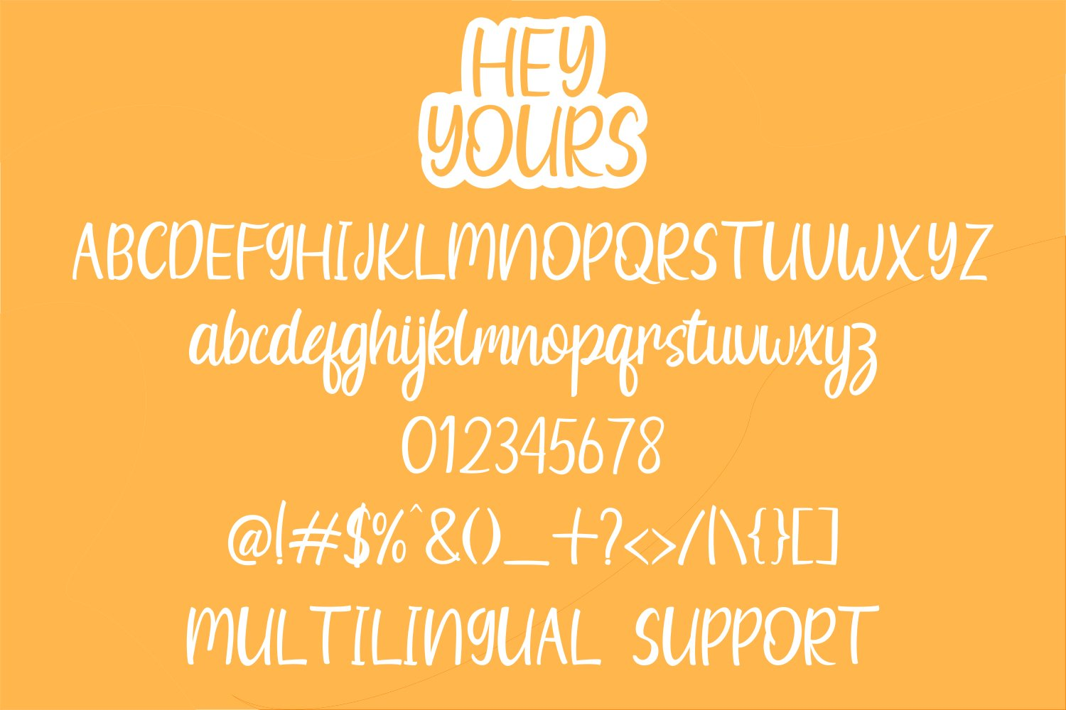 Hey Yours - A Quirky Handwritten Font example image 6