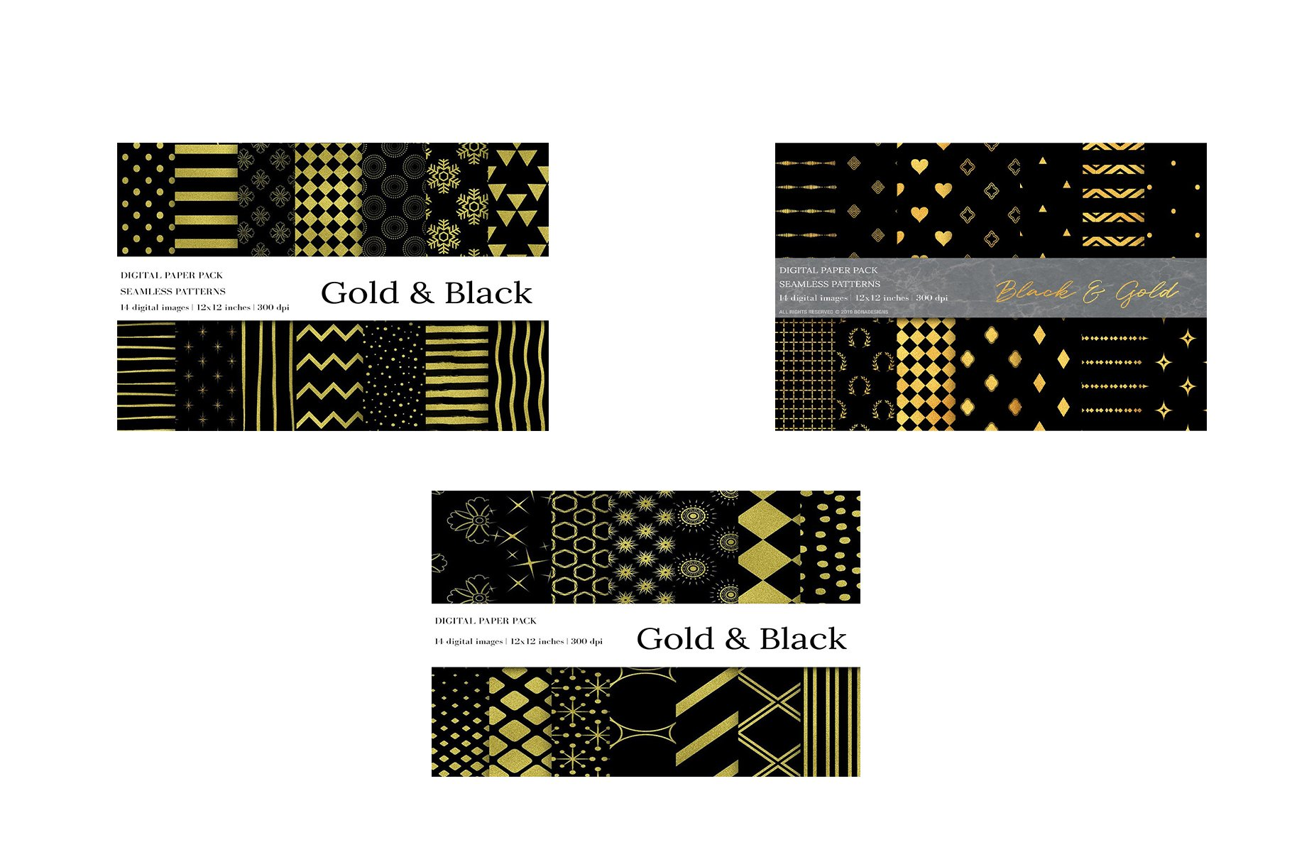 Seamless Patterns Bundle example image 2