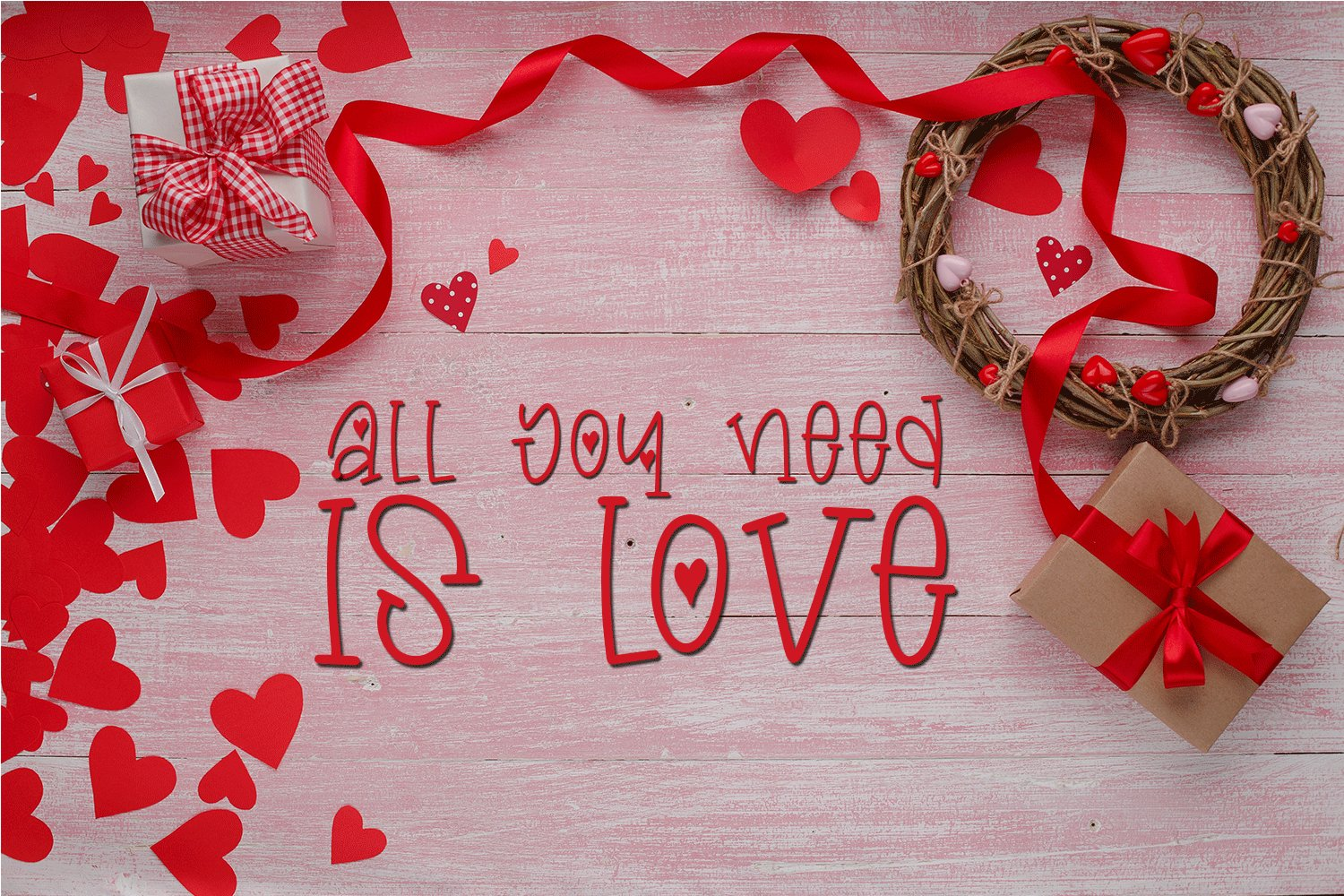 Valentine's Day Font - Miss Valentina example image 3