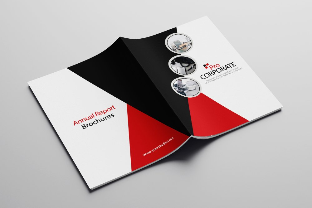 Business Corporate Bifold Brochure 16 Pages example image 2