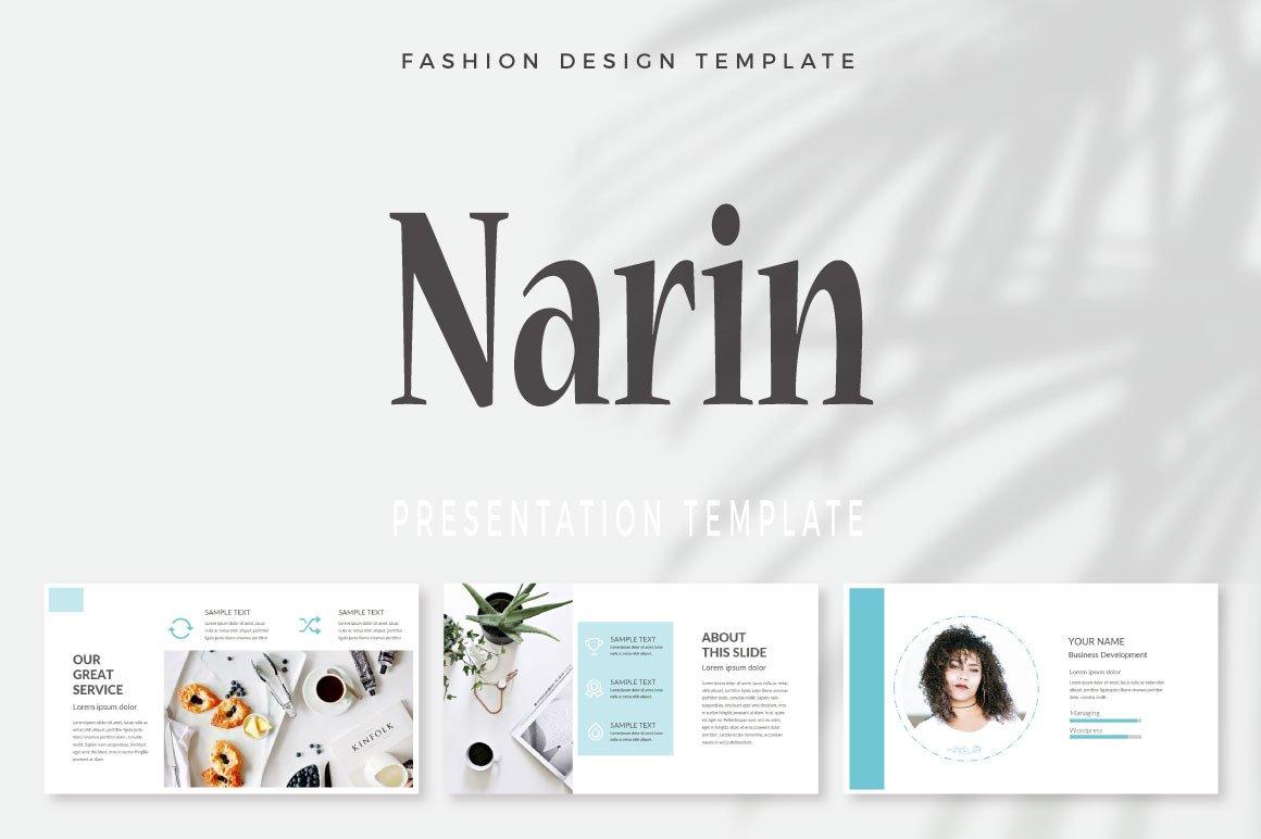 Narin Keynote Template example image 1