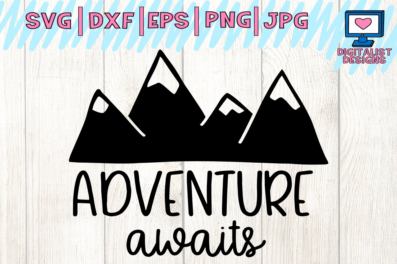 Adventure Svg Camping Svg Summer Svg Camping Shirt Mountain Svg Happy Campers Cricut Silhouette Vector Adventure Awaits Svg 86432 Cut Files Design Bundles