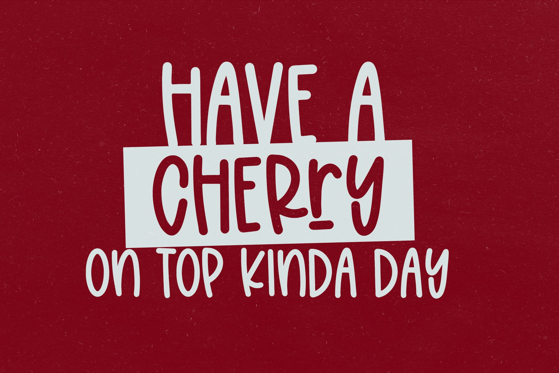 Cherry Freeze - A Quirky Handwritten Font example image 3